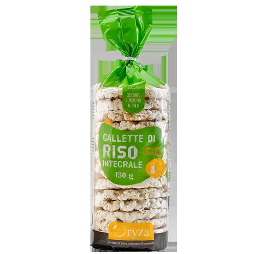 Oryza gallette di riso integrale bio