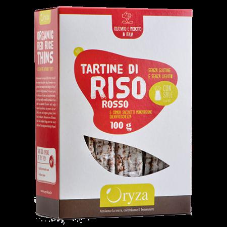 Oryza tartine di riso rosso bio